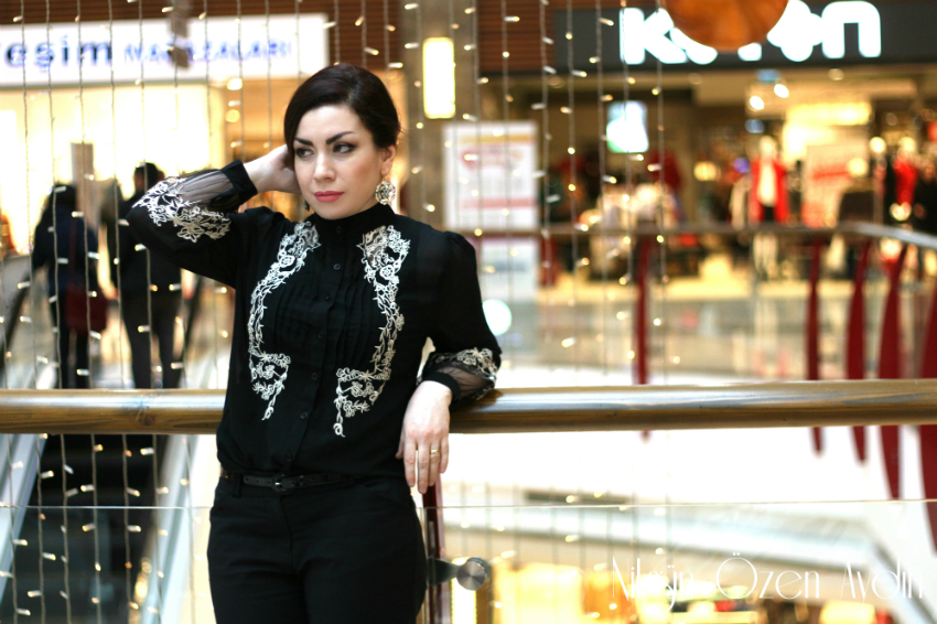 şifon gömlek-nakışlı gömlek-nakışlı-moda blogu,fashion blogger-fashion blog