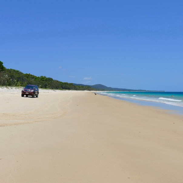 Moreton Island 4WD Beach