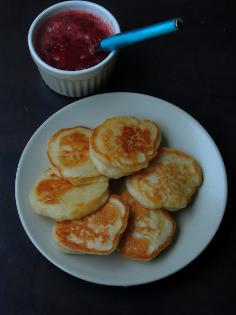 Livance, Yeasted Czech Pancakes