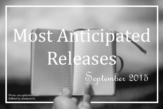 Always, Tofu.: Most Anticipated Releases of September