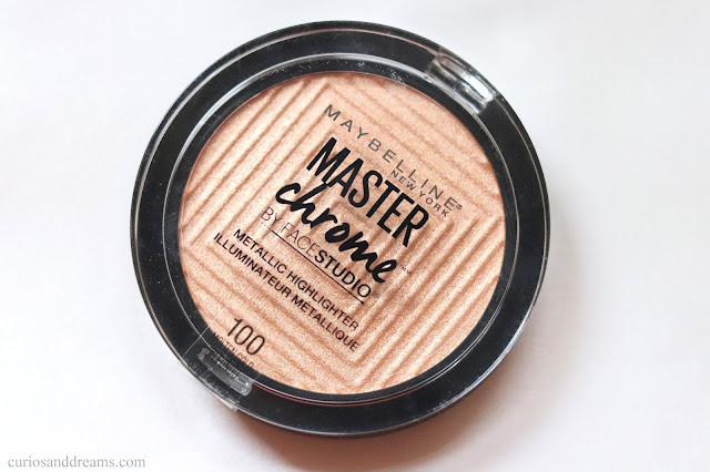 Maybelline Master Chrome Highlighter Molten Gold review, Maybelline Master Chrome Highlighter Molten Gold review india, Maybelline Master Chrome Highlighter Molten Gold india
