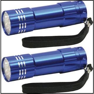 Dorcy 9 LED Flashlight Pack of 2
