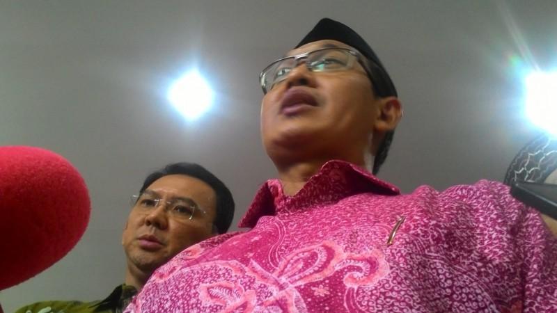 Ahmad Ishomuddin dan Ahok