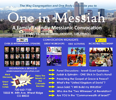 One in Messiah Messianic Convocation, Denver 2019