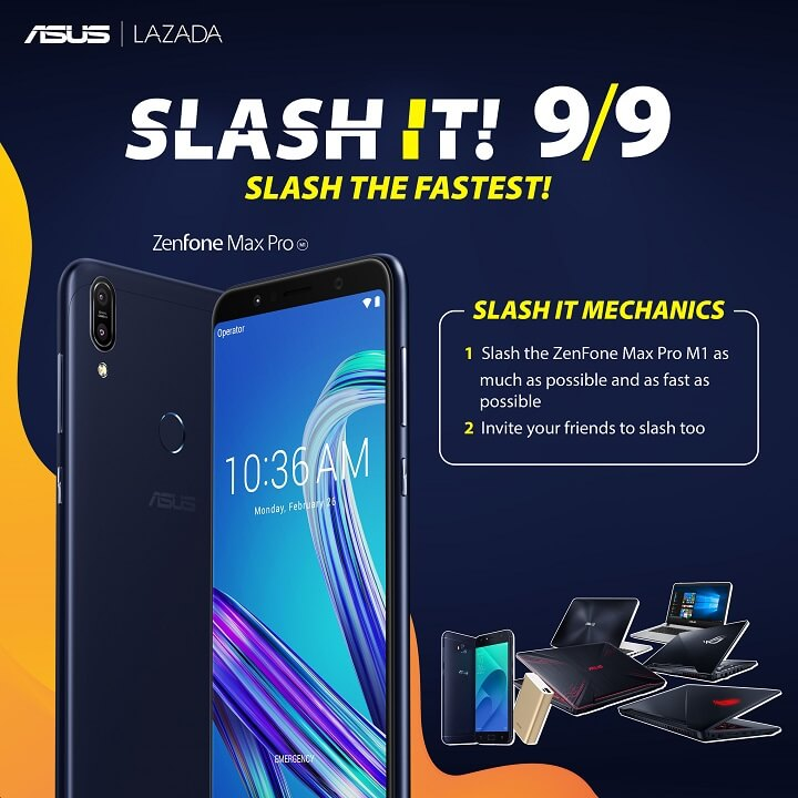 ASUS Set to Slash Prices at Lazada 9.9 Sale