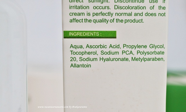 Ozora Toner Ingredients