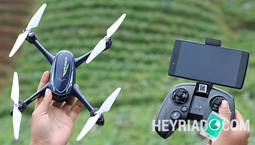 Review Hubsan H216A Indonesia