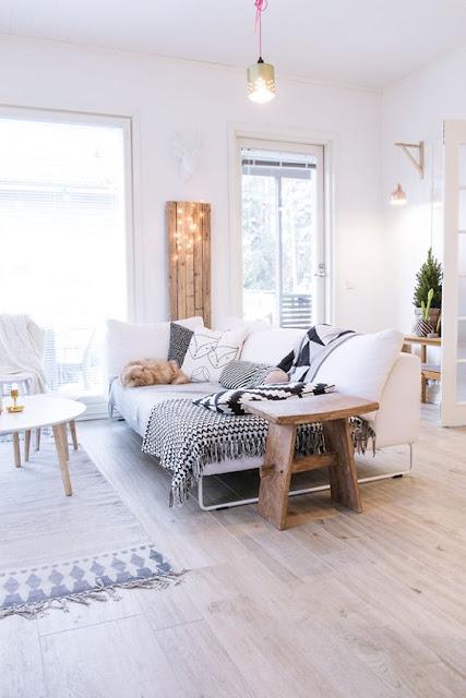 salon décoration scandinave