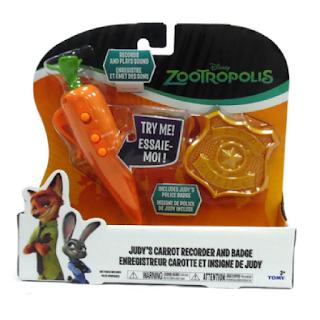 Un jouet pour enfant tiré du film Disney : Zootopie.