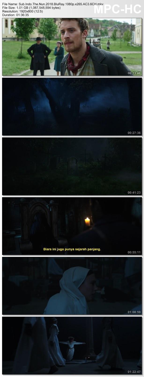 Screenshots Download Calugarita: Misterul de la manastire (2018) BluRay 480p & 3GP Subtitle Indonesia