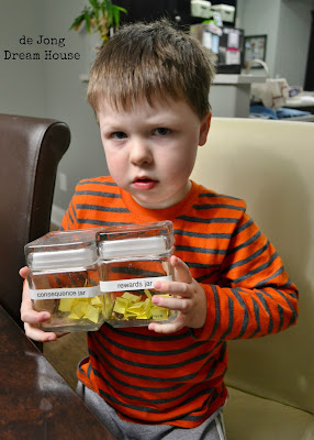 Reward and Consequence Jars - A Guest Post by De Jong Dream House on PalmettosandPigtails.com