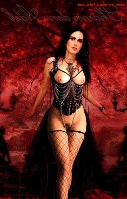 Sharon Den Adel Naked