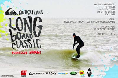 Quiksilver Longboard Classic 2015 Bredene België