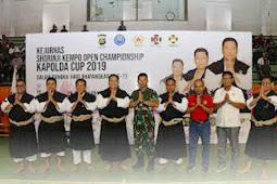 Benny Susianto Hadiri Pembukaan Kejuaraan Shorinji Kempo Kapolda Bali Cup 2019