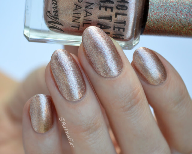pink ice barry m molten metals swatch furious filer