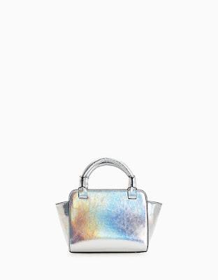 Immagine di borsa argento Stradivarius
