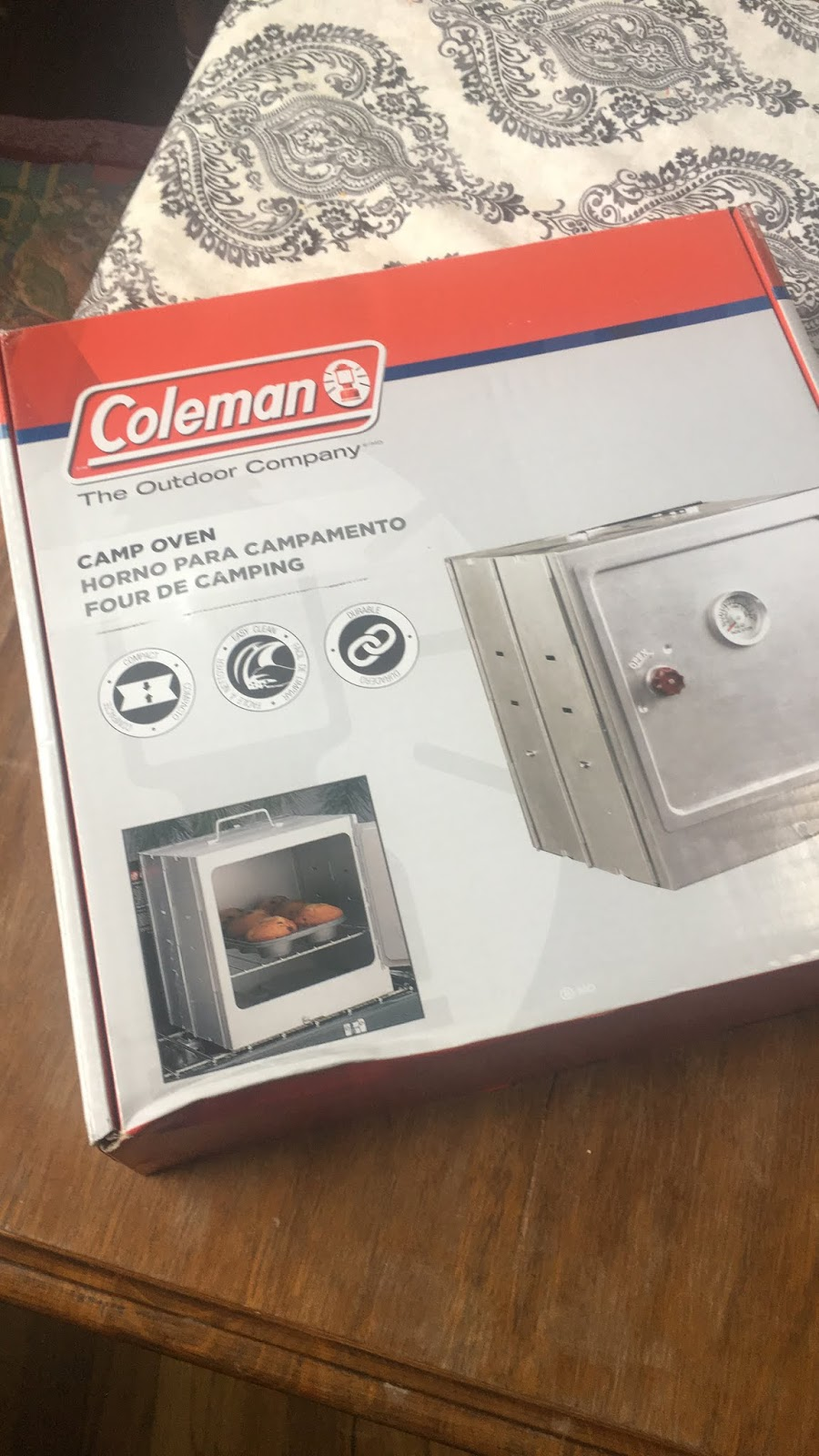 The Southern Glamper: Coleman Camp Oven Review