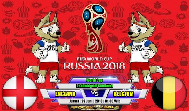 Prediksi England vs Belgium 29 Juni 2018