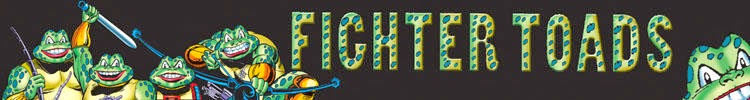 Fighter Toads Banner Raj Comics