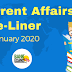 Current Affairs One-Liner: 5th January 2020