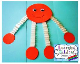 http://learningideasgradesk-8.blogspot.com/2011/09/2d-shape-people-crafts-activity.html