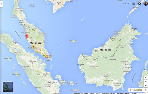 Pangkor Island, Malaysia.