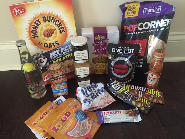 Snacks food subscription box