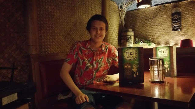 Interview with Gustav Almén, Tiki Room, Trader Magnus