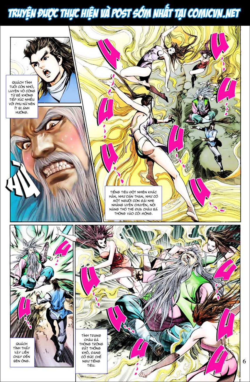Anh Hùng Xạ Điêu anh hùng xạ đêu chap 40 trang 6