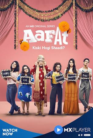 Poster Of Aafat Season 01 2019 Watch Online Free Download