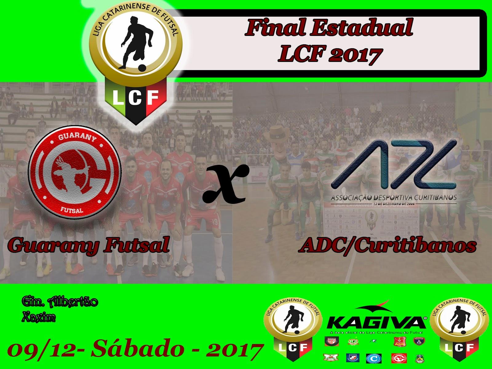 43a3d30939 ADC Curitibanos e Guarany de Xaxim decidem a LCF 2017
