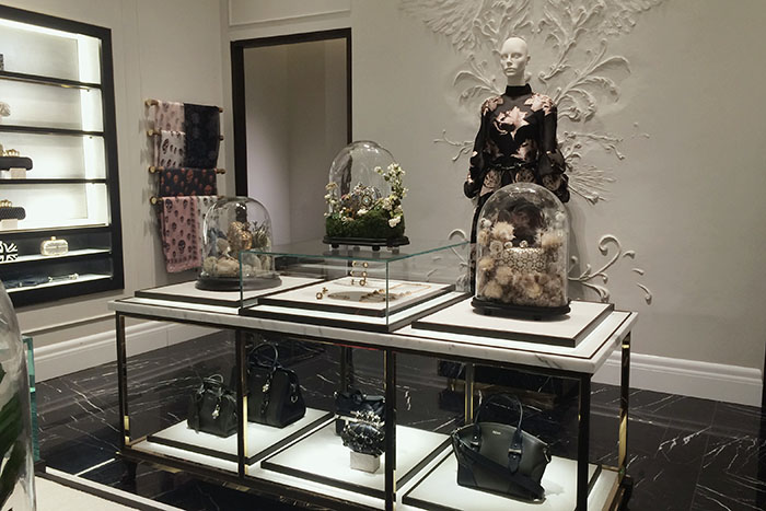 Alexander McQueen Moscow Boutique & Exhibition