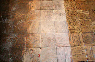 Sandless Parquet Refinishing, NY