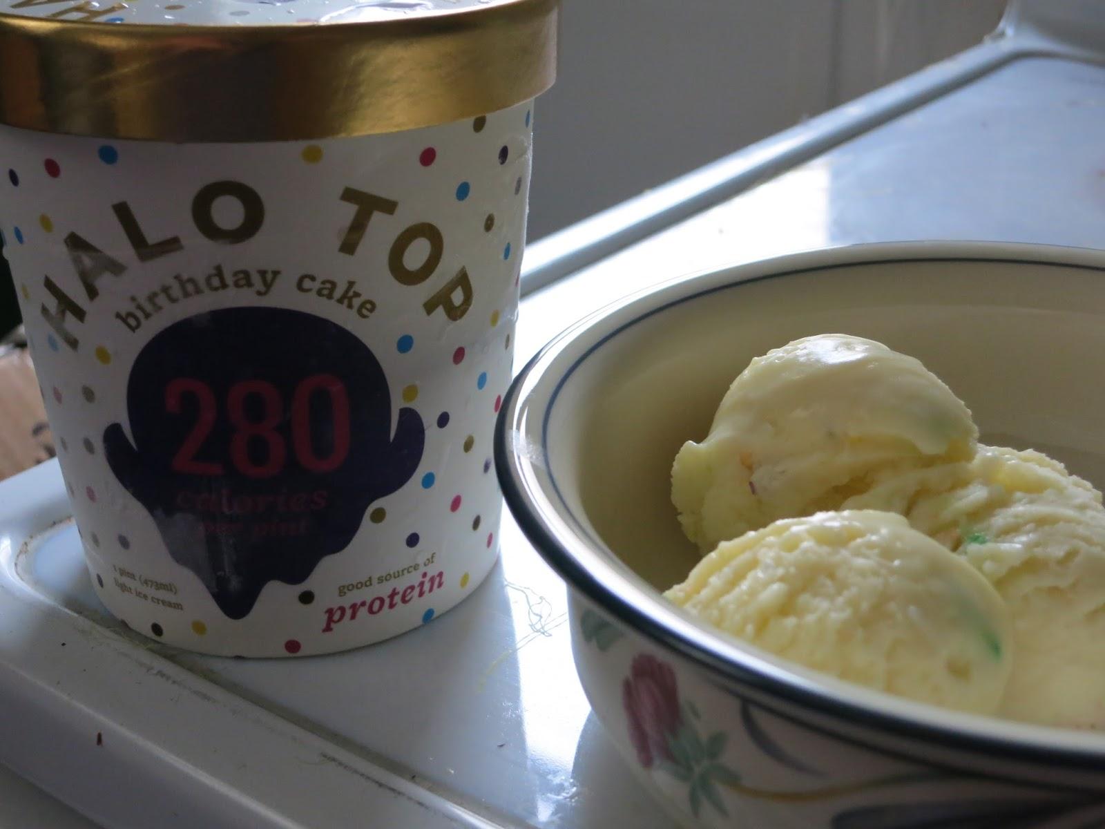 Birthday Cake Ice Cream Halo Top