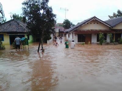 Banjir Landa Kabupaten Pringsewu