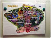 Primary Singing Time Disneyland Map Game - Little