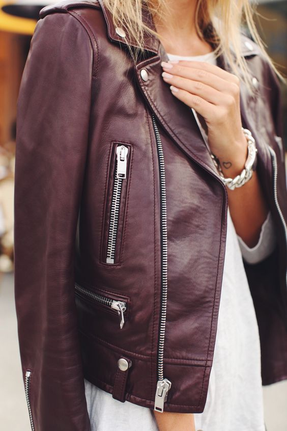 Best ideas about Leather Jacket Outfits