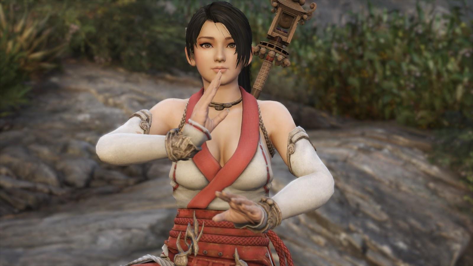 Momiji Ninja Gaiden [Add-On Ped / Replace] GTA5 - GamesMods17