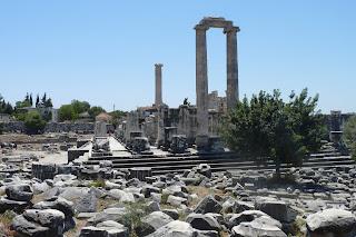 Templo  de oracular  Apolo, Dídima.