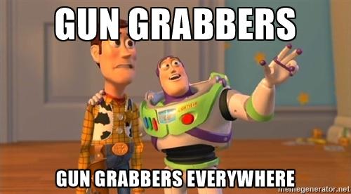 Gun%2BGrabbers%2BEverywhere the freeholder sometimes the memes just write themselves,Some Memes Write Themselves