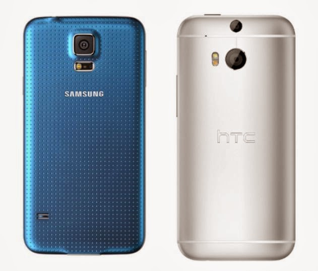Samsung Galaxy S5 Vs HTC One M8 Which is Best?