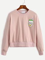 http://es.shein.com/Pink-Drop-Shoulder-Embroidered-Sweatshirt-p-305996-cat-1773.html?aff_id=8741