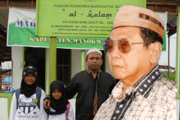 Berkat Logo NU dan Foto Gus Dur, Pesantren di Papua Tak Dihancurkan