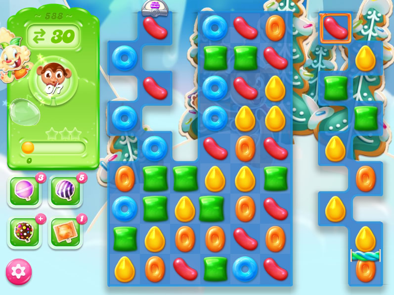 Candy Crush Jelly Saga level 588