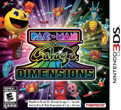 Download Pac-Man & Galaga Dimensions 3DS ROM Cia