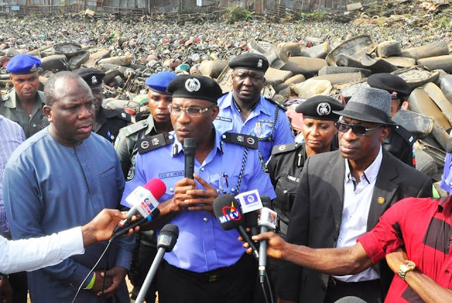 Lagos to destroy impounded 'okada'
