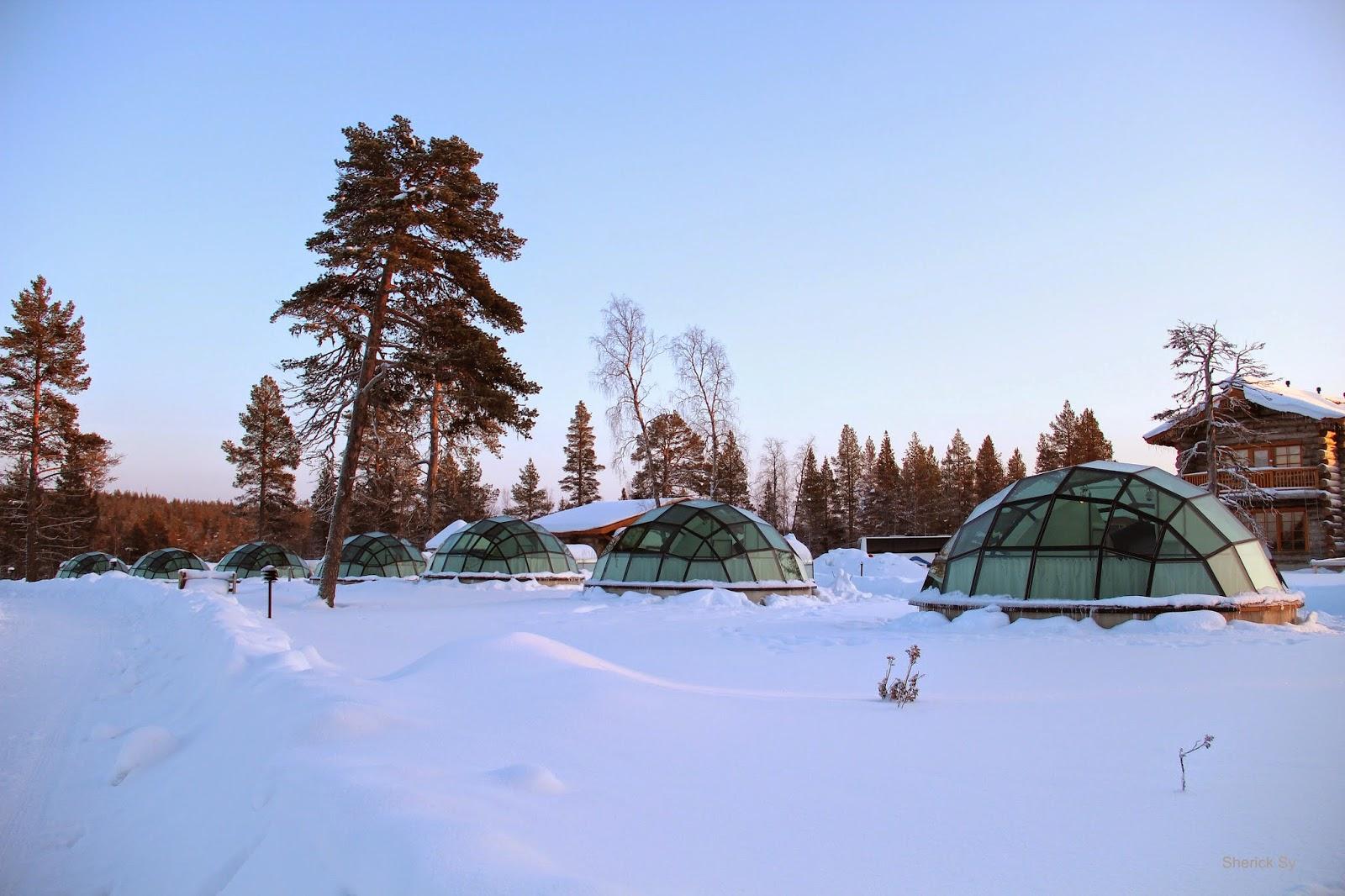 Daytime, Glass Igloo, Kakslauttanen, Finland