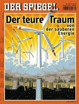 """Der Spiegel: """"O sonho caro de energia limpa"""""""