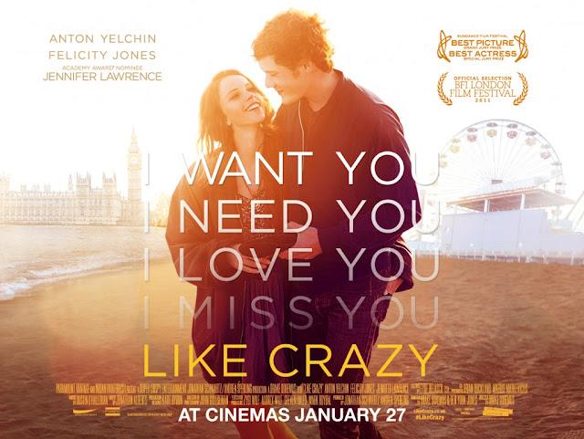 """Like crazy"" FILM"