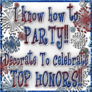 Decorate To Celebrate! Top Honors